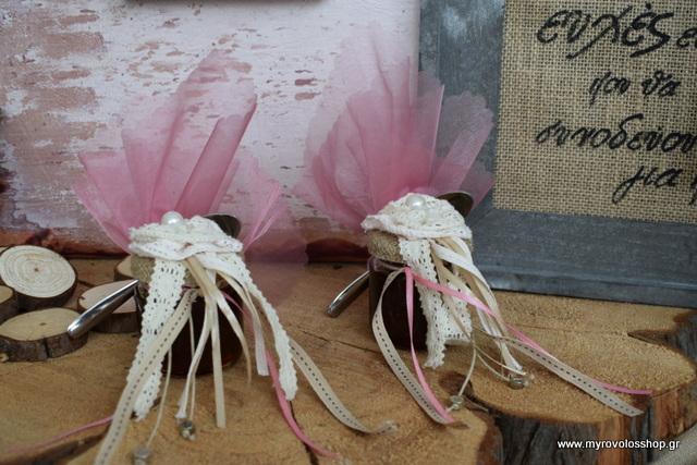 e01f7471f9bf Μπομπονιέρα Γάμου Βαζάκι Γλυκό κουταλιού MET GIAL-19 – Myrovolos Shop