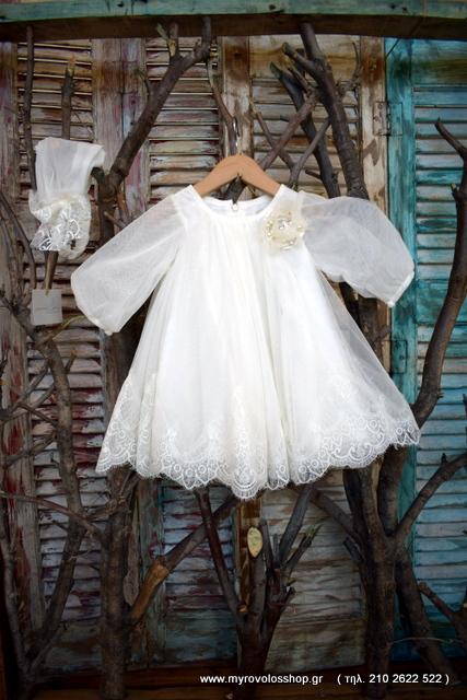 402a9d417707 Βαπτιστικά Ρούχα Κοριτσιού PRK-69 – Myrovolos Shop